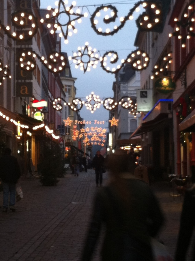 Weekly Photo Challenge: Street Life: 2. Rhineland Christmas Markets