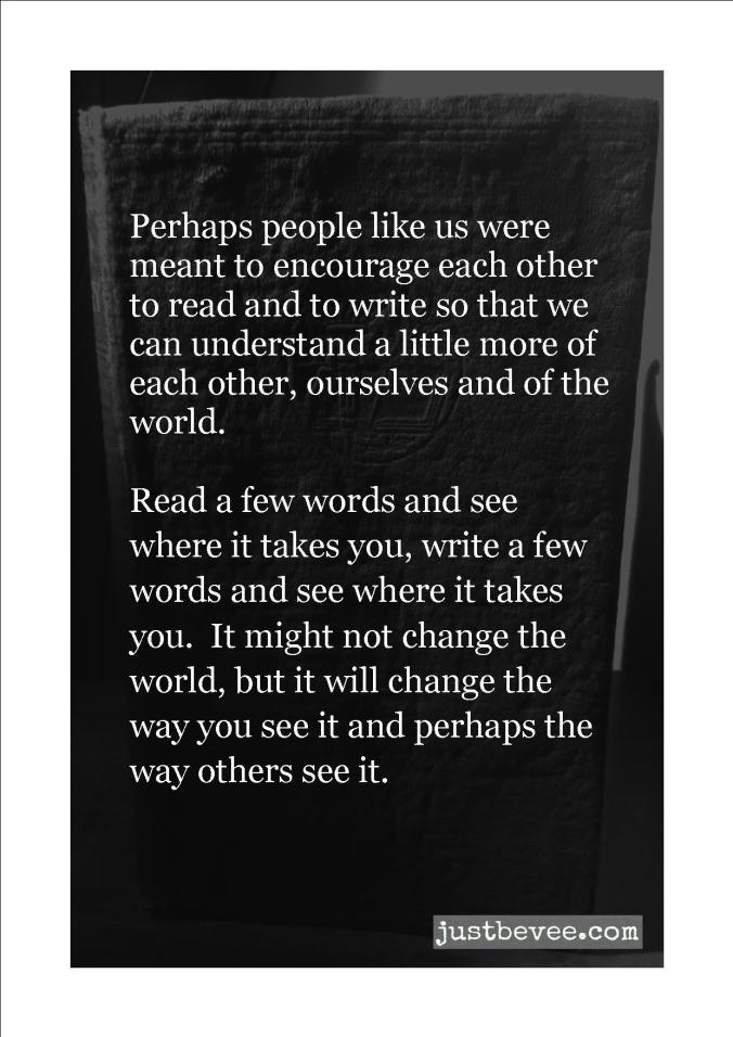 write a little