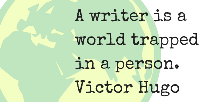 A-writer-is-a-world-trapped-in-a-person.